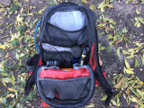 A look at the main storage space in the Duthie Hydration pack. I kept most of my bike tools in here, and used the additional pockets to store phone, food and other small items. (photo: Ryan Malavolta/Utahoutside.com)