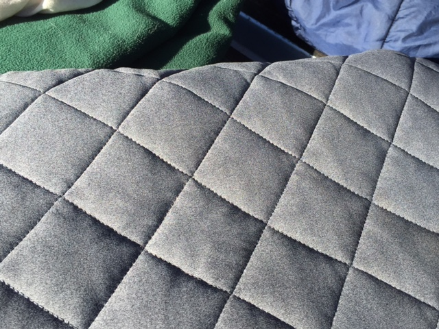 A soft, quilted exterior is one reason the Klymit Luxe Pillow is so much more comfortable than other inflatable camping pillows. (Photo: Jared Hargrave - UtahOutside.com)