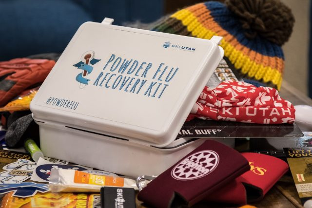 Got the Powder Flu? Then the Ski Utah Powder Flu Recovery Kit will make you feel better, like mom's chicken soup. (Photo: Ski Utah)