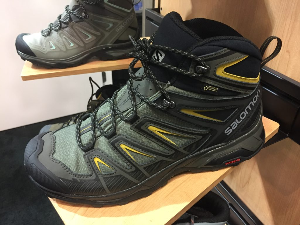 cheaper fb707 940fe Salomon shows off new hiking boots at ORSM 2017