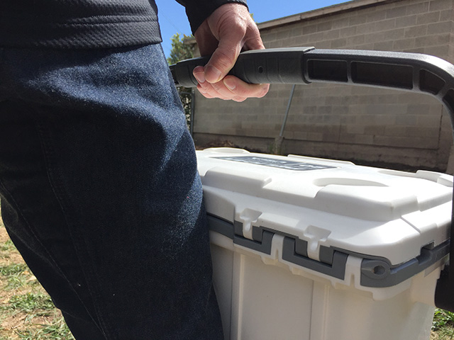 Pelican Elite 20QT cooler handle