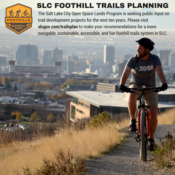 Salt Lake City Foothill Trails