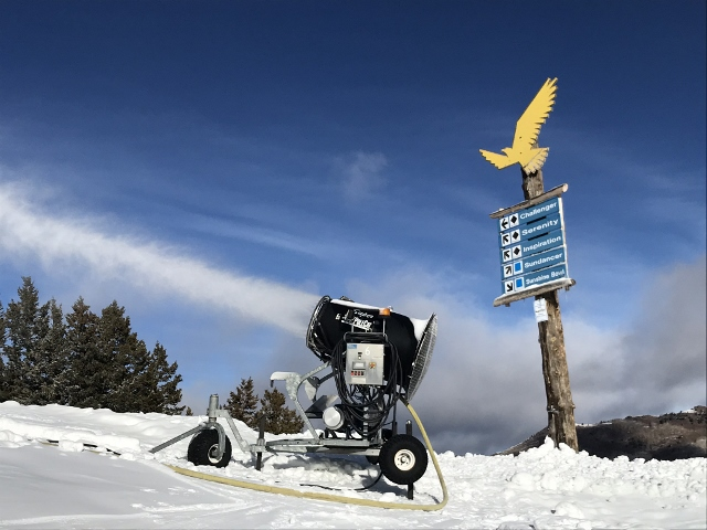 Solitude Golden Eagle snow gun
