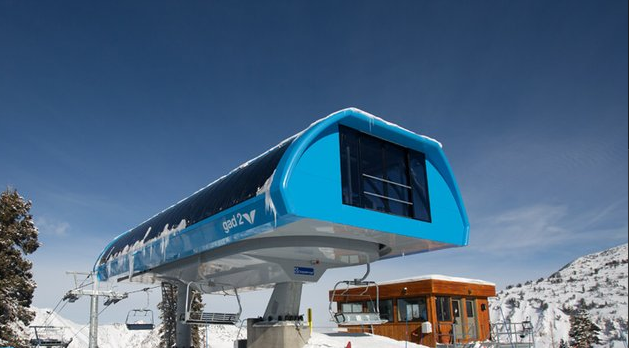 New Gad 2 Lift At Snowbird Opens To The Public